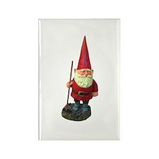Garden Gnome Rectangle Magnet