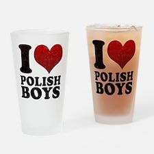I love Polish Boys Pint Glass