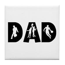 Basketball Dad Tile Coaster