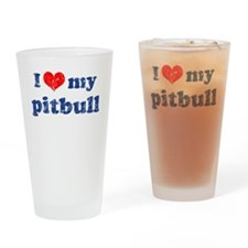 I love my Pitbull Pint Glass