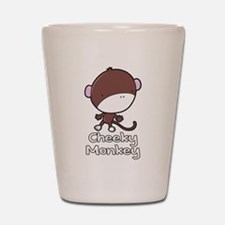 Cheeky Monkey Shot Glass