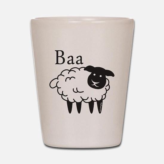 Baa Shot Glass
