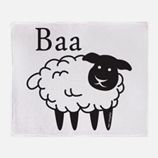 Baa Throw Blanket