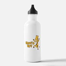 What's Up Giraffe Water Bottle