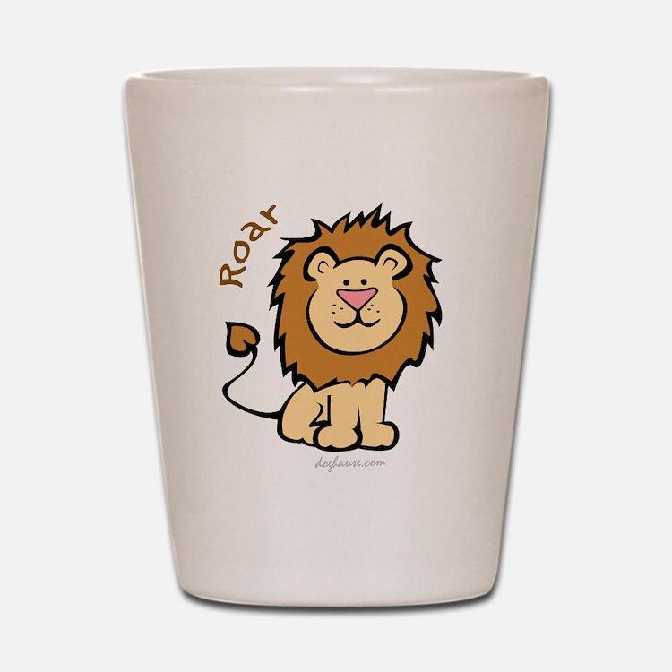 Roar (Lion) Shot Glass
