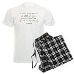 Seems to Me Men's Light Pajamas