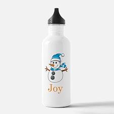 Snowman Joy Water Bottle