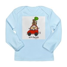 Car We're Moving Long Sleeve Infant T-Shirt