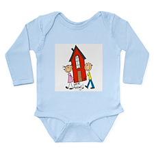 House We're Moving Long Sleeve Infant Bodysuit