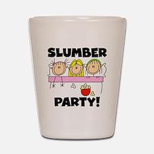 Slumber Party Shot Glass