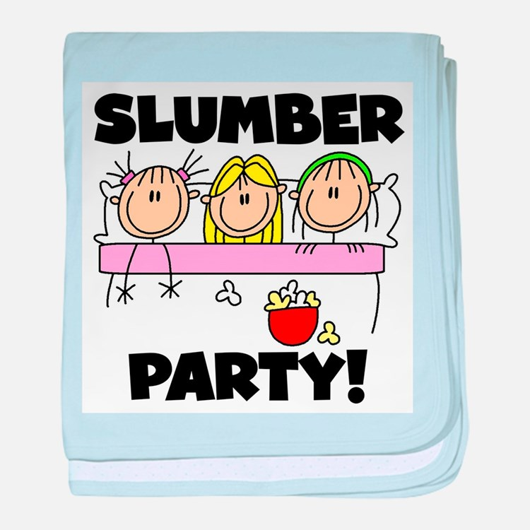 Slumber Party baby blanket