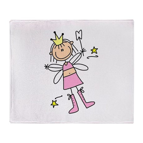 The Tooth Fairy Throw Blanket