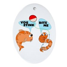 You Stink! Ornament (Oval)