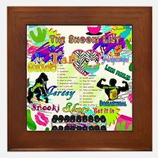 Best Seller Jersey Shore Gear Framed Tile