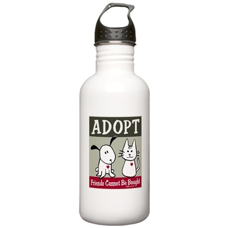 Adopt a Pet Stainless Water Bottle 1.0L