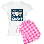 Give Love to Get Love Women's Light Pajamas