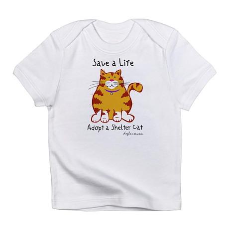 Shelter Cat Infant T-Shirt