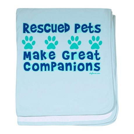 Rescued Pet Companions baby blanket