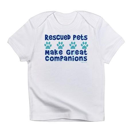 Rescued Pet Companions Infant T-Shirt