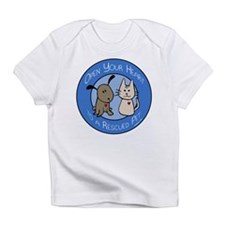 Open Your Heart - Rescued Pet Infant T-Shirt
