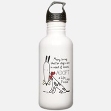 Life Long Friend (Dog) Sports Water Bottle