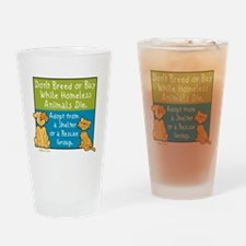 Adopt Shelter Rescue Pint Glass