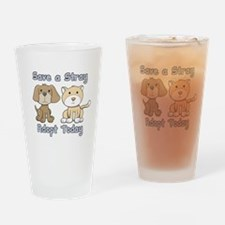 Save a Stray - Adopt Today Pint Glass