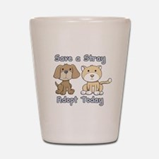 Save a Stray - Adopt Today Shot Glass