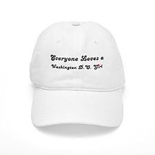 Loves Washington, D.C. Girl Baseball Cap