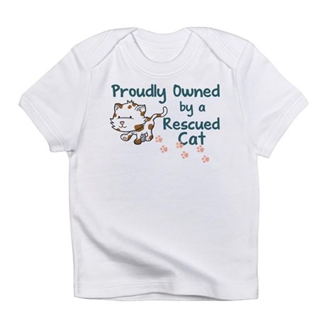 Proudly Owned (Cat) Infant T-Shirt