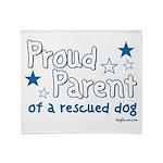 Proud Parent (Dog) Throw Blanket