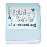 Proud Parent (Dog) baby blanket