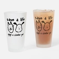 Save a Life - Adopt a Shelter Pint Glass