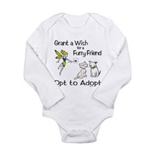 Grant Wish - Opt to Adopt Long Sleeve Infant Bodys