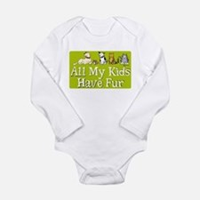 All My Fur Kids Long Sleeve Infant Bodysuit