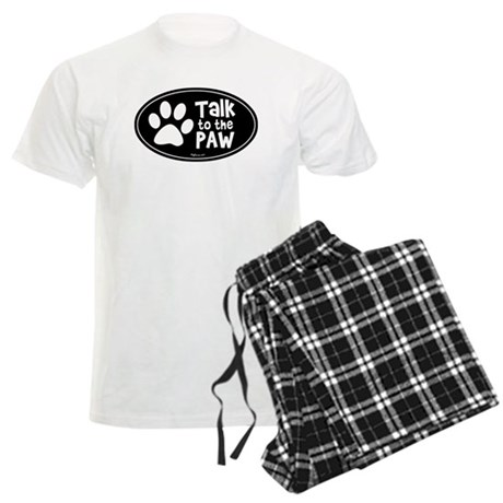 Talk to The Paw Men's Light Pajamas
