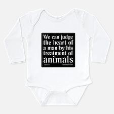 The Heart of Man Long Sleeve Infant Bodysuit