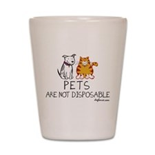 Non-Disposable Pets Shot Glass