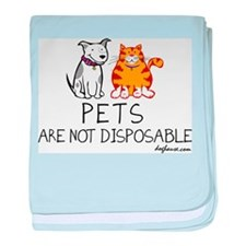 Non-Disposable Pets baby blanket