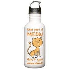 Part of Meow Water Bottle