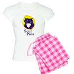 Funny Sour Puss Cat Women's Light Pajamas