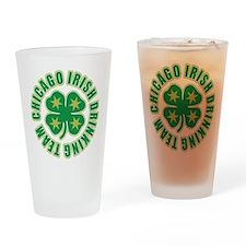 Chicago Irish Drinking Team Pint Glass