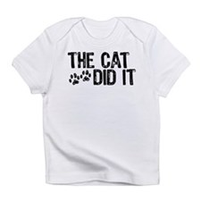 The Cat Did It Infant T-Shirt
