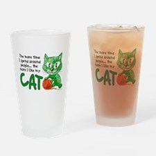 More Time (Cat) Pint Glass