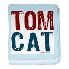 Tom Cat baby blanket