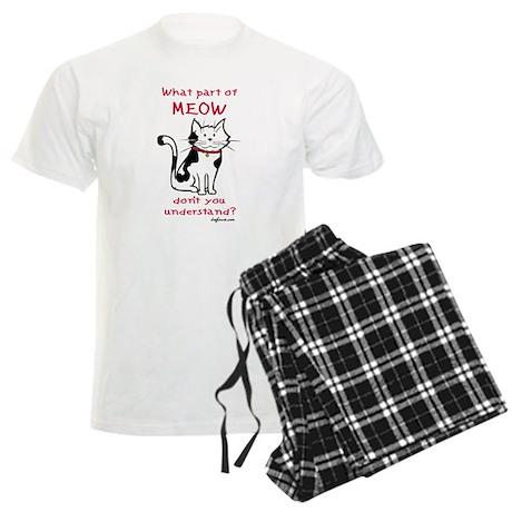 Meow Men's Light Pajamas