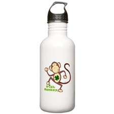 Shamrock Irish Monkey Water Bottle