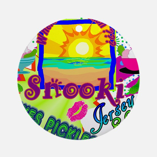 Best Seller Jersey Shore Gear Ornament (Round)