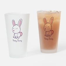 Honey Bunny Pint Glass