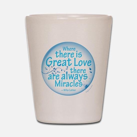 Great Love Shot Glass